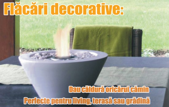 Flacari decorative
