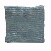 Perna stralucitoare 65x65 cm gri