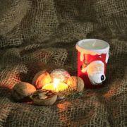 Lumanare ceramica Mos Craciun