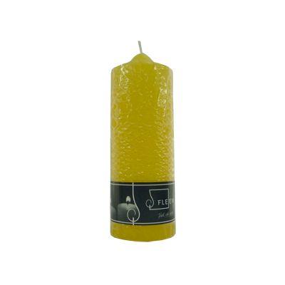 Lumanare cilindrica Φ7x20 cm galben