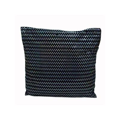 Perna stralucitoare 65x65 cm neagra