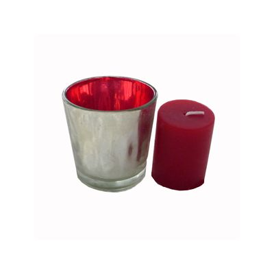 Lumanare parfumata Craciun in suport de sticla Φ4x5 cm