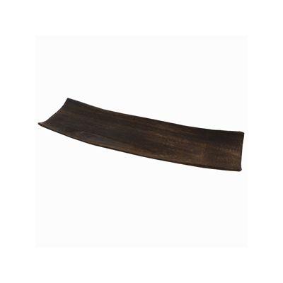 Suport accesorii decor din lemn maro 35x9.8x3.8 cm handmade