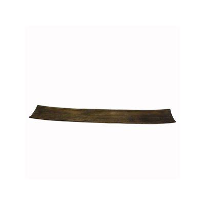 Suport accesorii decor din lemn maro 70x11x4 cm handmade