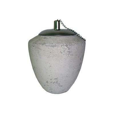 Flacara ceramica decorativa Ø 14 x 17 cm