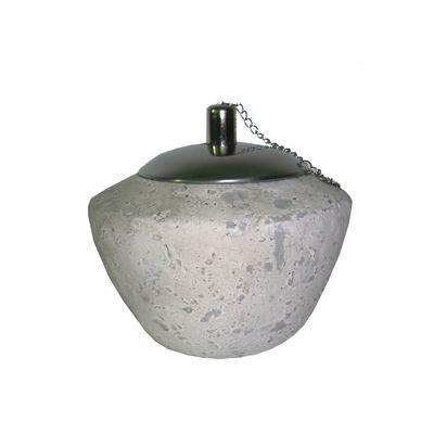 Flacara ceramica decorativa Ø 14 x 12 cm